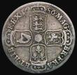 London Coins : A171 : Lot 1503 : Halfcrown 1686 SECVNDO edge with V over S in IACOBVS, overdate variety as ESC 496A, Bull 752 with ES...