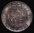 London Coins : A171 : Lot 1529 : Halfcrown 1817 Small Head ESC 618, Bull 2096 About EF/EF with deep toning, the obverse with some sur...