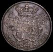 London Coins : A171 : Lot 1533 : Halfcrown 1821 ESC 631, Bull 2360 GF/NVF with old grey toning