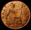 London Coins : A171 : Lot 1583 : Halfpenny 1916 Freeman 395 dies 1+A UNC with virtually lustre
