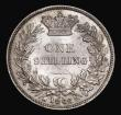London Coins : A171 : Lot 1634 : Shilling 1866 ESC 1314, Bull 3027, Die Number 61 GEF/AU with original mint lustre, the obverse with ...