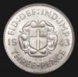London Coins : A171 : Lot 1657 : Silver Threepence 1942 ESC 2157 BU and graded 88 by LCGS