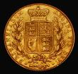 London Coins : A171 : Lot 1789 : Sovereign 1839 Marsh 23 NVF, rated R2 by Marsh and very rare, most examples we have seen occur aroun...