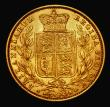 London Coins : A171 : Lot 1821 : Sovereign 1853 WW incuse on truncation, S.3852D VF/GVF and pleasing for the grade