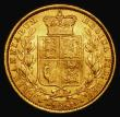 London Coins : A171 : Lot 1843 : Sovereign 1861 Marsh 44, S.3852D NEF/EF