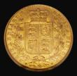 London Coins : A171 : Lot 1867 : Sovereign 1869 Marsh 53, S.3853, Die Number 1, in an NGC holder 'Douro Treasure' and grade...