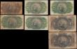 London Coins : A171 : Lot 196 : Mozambique early pre 1950's issues (7) in the mid grade Fine-VF and rarely seen notes comprisin...