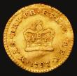 London Coins : A171 : Lot 2260 : Third Guinea 1797 S.3738 Near Fine/Fine, bent and straightened