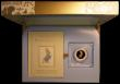 London Coins : A171 : Lot 266 : Fifty Pence 2017 The Tale of Peter Rabbit Gold Proof FDC in the elaborate Royal Mint box (large intr...