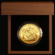 London Coins : A171 : Lot 299 : Five Pounds Gold 2009 S.SE11 BU in the Royal Mint box of issue with certificate