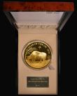 London Coins : A171 : Lot 330 : One Thousand Pounds 2021 Sheng Xiao Collection - Chinese Lunar Year of the Ox, One Kilo of .999 Gold...