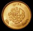 London Coins : A171 : Lot 575 : Egypt 20 Piastres Gold 1930 (AH1349) KM#351 A/UNC and lustrous, an attractive example of this short-...