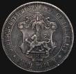 London Coins : A171 : Lot 589 : German East Africa 2 Rupien 1893 KM#5 Good Fine/Fine toned, with an edge nick, a scarce issue only m...