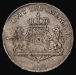 London Coins : A171 : Lot 592 : German States - Bavaria Thaler 1807 Obverse: Uniformed Bust right, Reverse: Crowned Arms with suppor...