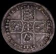 London Coins : A171 : Lot 594 : German States - Brunswick-Luneburg-Calenberg-Hannover 2/3 Thaler 1715 HCB KM#100 the edge slightly f...