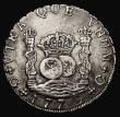 London Coins : A171 : Lot 623 : Guatemala 8 Reales 1770 GP Small 38mm planchet type KM#27.2 Near VF a pleasing and collectable examp...