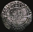 London Coins : A171 : Lot 639 : Ireland Groat Henry VIII First Harp Issue, Henry VIII and Jane Seymour (1536-37) Good Fine, a bold a...