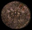 London Coins : A171 : Lot 645 : Ireland Sixpence Gunmoney 1689 Dec. S.6583I, Stop after VI, Timmins TB06G-1B, 3.36 grammes, GVF the ...