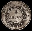 London Coins : A171 : Lot 655 : Italian States - Venice 5 Lire 1848V KM#804 Good Fine and bold, the reverse with light signs of flan...