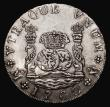 London Coins : A171 : Lot 672 : Mexico 8 Reales 1760 Mo MM Charles III, with traces of the CARO over FERD recut die, KM#105 Good Fin...