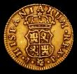 London Coins : A171 : Lot 720 : Spain Half Escudo Gold 1764 JP KM#389.1 Good Fine and bold, a pleasing early issue