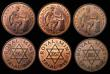 London Coins : A171 : Lot 927 : Royal Mint Trials (6) Uruguay 5 Centesimos (British Royal Mint Trial) 23mm diameter, Obver...