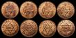 London Coins : A171 : Lot 928 : Royal Mint Trials (7) Uruguay 5 Centesimos (British Royal Mint Trial) 23mm diameter, Obver...