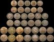 London Coins : A171 : Lot 988 : A retired dealers ex-retail stock (40) 19th and 20th Century, an eclectic mix with some in silver, i...