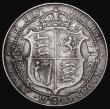 London Coins : A172 : Lot 1044 : Halfcrown 1903 ESC 748, Bull 3569 Fine, the garter legend with all letters visible, one of the key d...