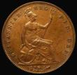London Coins : A172 : Lot 1125 : Penny 1856 Plain Trident Peck 1510 GEF toned, in an LCGS holder and graded LCGS 70