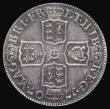 London Coins : A172 : Lot 1187 : Shilling 1707 Third Bust ESC 1141, Bull 1395 EF with attractive grey toning, in an LCGS holder and g...