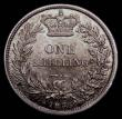 London Coins : A172 : Lot 1210 : Shilling 1836 ESC 1273, Bull 2494 a most attractive example displaying grey and gold original toning...