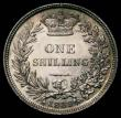 London Coins : A172 : Lot 1214 : Shilling 1839 Second Young Head, No WW ESC 1283, Bull 2979 in an LCGS holder and graded LCGS 85, the...