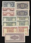 London Coins : A172 : Lot 131 : Italy (12) 500 Lire 1947 Pick 80a About Fine, 100 Lire (2) 1951 issue Pick 92a and Pick 92b About Fi...