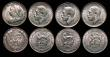 London Coins : A172 : Lot 1562 : Halfcrowns (2) 1915 ESC 762, Bull 3714 EF and lustrous, 1918 ESC 765, Bull 3717 EF and lustrous, Shi...