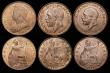 London Coins : A172 : Lot 1576 : Halfpennies (7) 1895 Freeman 370 dies 1+A, UNC with traces of lustre and minor cabinet friction, 189...