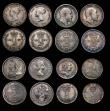 London Coins : A172 : Lot 1581 : Maundy Odds (16) Fourpences (5) 1689 No stop before first G or after last G on obverse ESC 1867, Bul...