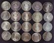 London Coins : A172 : Lot 1717 : World Crown-sized in Silver (20) Austria Thalers 1780 Maria Theresa (7) EF to UNC, 1780 Maria Theres...