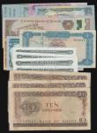 London Coins : A172 : Lot 179 : World (22) Egypt Ten Pounds 1964 issue (3) Pick 41 VG, Eritrea Five Nafka 1997 issues Pick 2 (5) inc...