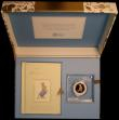 London Coins : A172 : Lot 223 : Fifty Pence 2018 The Tale of Peter Rabbit S.H44 Gold Proof FDC in the elaborate Royal Mint box, a la...