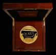 London Coins : A172 : Lot 244 : Five Hundred Pounds 2020 Queen – British Music Legends 5oz. Gold Proof. Formed in London in th...