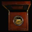 London Coins : A172 : Lot 246 : Five Hundred Pounds 2021 Sheng Xiao Collection - Chinese Lunar Year of the Ox 5oz. Gold Proof, Rever...