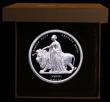 London Coins : A172 : Lot 270 : Five Pounds 2019 MMXIX Una and the Lion The Great Engravers William Wyon 2 oz Silver Proof FDC cased...