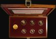 London Coins : A172 : Lot 309 : Queen Elizabeth II Royal Portrait Collection a 7-coin set in gold comprising Sovereigns (4) 1968 Mar...