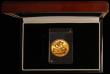 London Coins : A172 : Lot 313 : Sovereign 1957 Marsh 297 UNC boxed with certificate