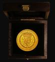 London Coins : A172 : Lot 322 : Sovereign Henry VII a modern Replica of good style struck in 9 carat gold and weighing 31.19 grammes...