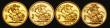 London Coins : A172 : Lot 323 : Sovereigns (4) 1980, 1990, 2000 and 2010 Proof FDC in Westminster's Decades Sovereign Collectio...