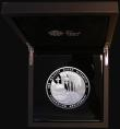 London Coins : A172 : Lot 325 : Ten Pounds 2013 5oz. Silver Proof Coronation 60th Anniversary, Reverse: Orb and Sceptre upon the Cor...