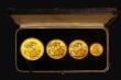 London Coins : A172 : Lot 375 : Victoria Jubilee Head 1887 Gold Sets an unusual set comprising Gold Five Pounds 1887 GEF with some l...