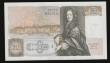 London Coins : A172 : Lot 48 : Fifty pounds Somerset B352 issued 1981 series B10 323113, Christopher Wren on reverse, Pick381a, abo...